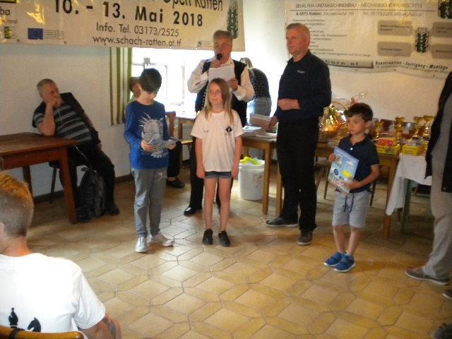 Schach-Open Ratten  vom 10. 5. – 13. 5. 2018
