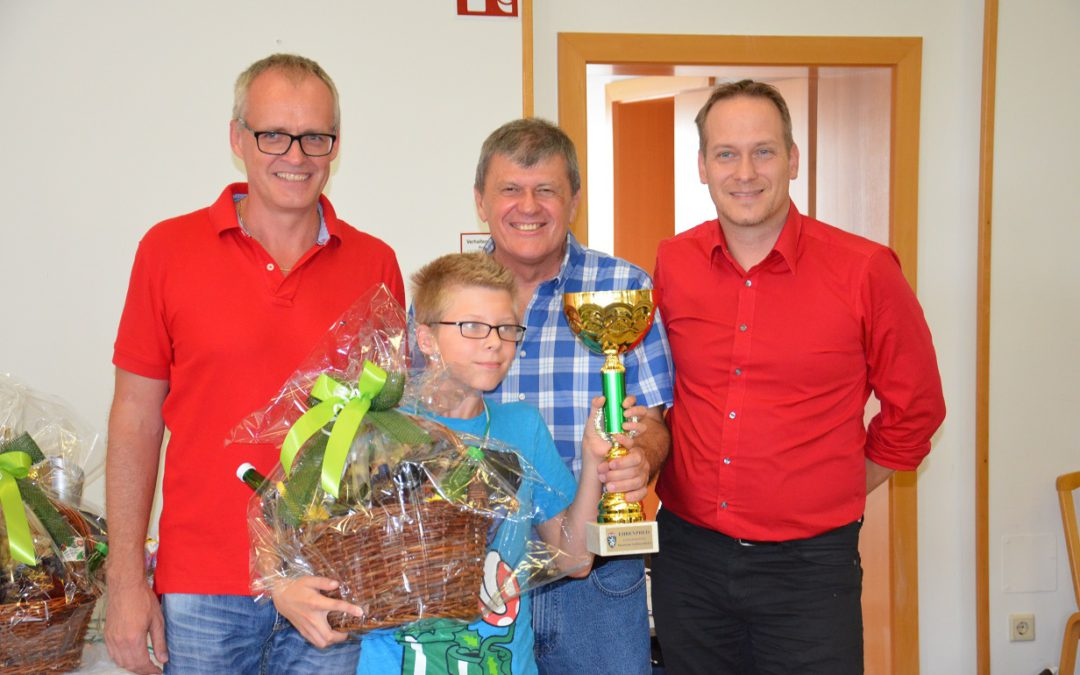 Jugendschachrallye U16 in St. Martin im Sulmtal am 2. 9. 2018