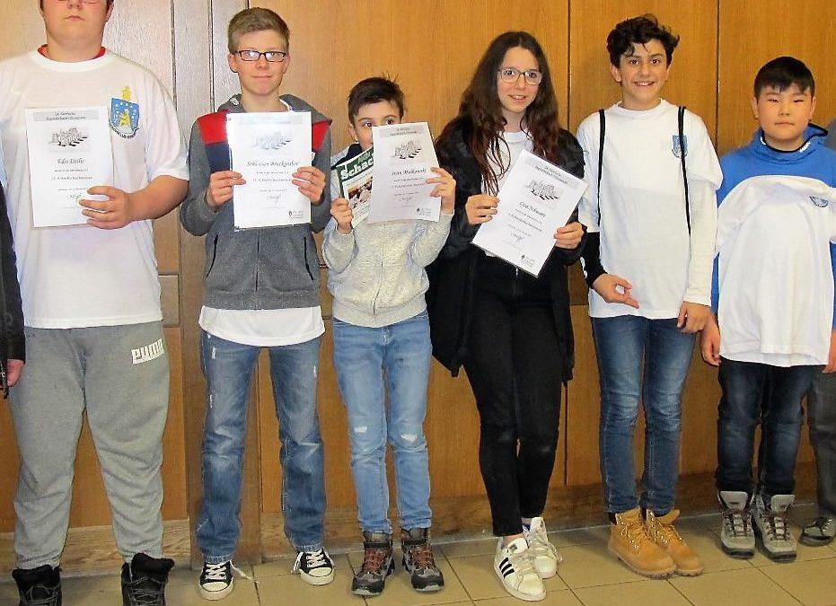 24. Schacholympiade- Schnellschachlandesmeisterschaften am 13. 2. 2019
