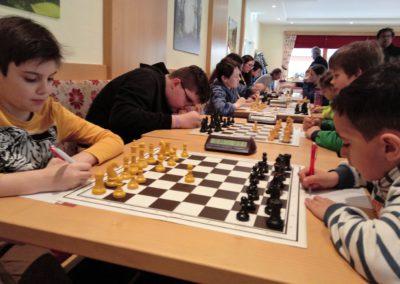 Obersteirische Jugendliga U16 am 10. 3., 7.- 9. Runde in Fohnsdorf